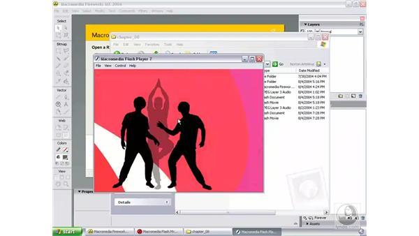 view final animation: Studio MX 2004 Web Workflow