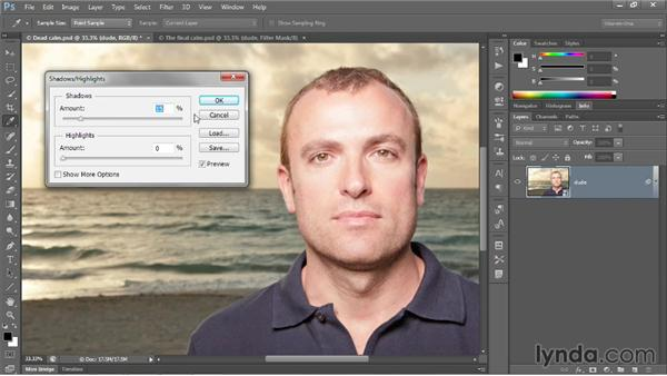 Introducing Shadows/Highlights: Photoshop CC 2013 One-on-One: Advanced