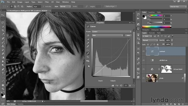 Curves tips and tricks: Photoshop CC 2013 One-on-One: Advanced