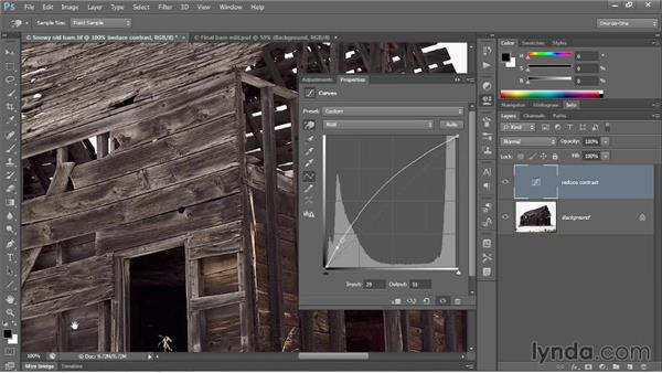 Correcting a challenging image: Photoshop CC 2013 One-on-One: Advanced
