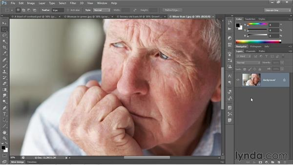 A few great uses for the contrast modes: Photoshop CC 2013 One-on-One: Advanced