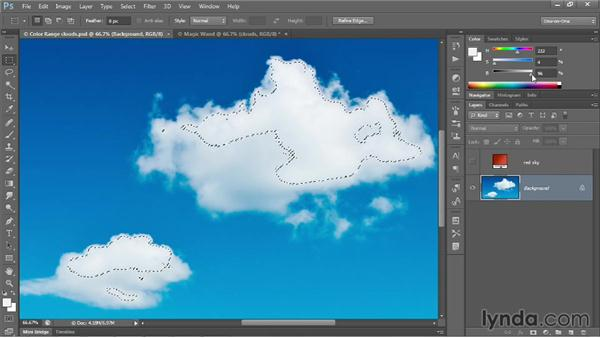 Introducing the Color Range command: Photoshop CC 2013 One-on-One: Advanced