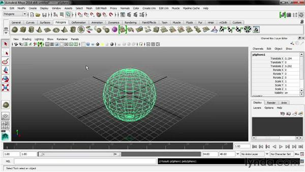 In-view messages: Maya 2014 New Features