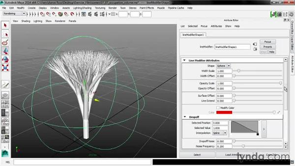 Sculpting with Occupation Volume: Maya 2014 New Features