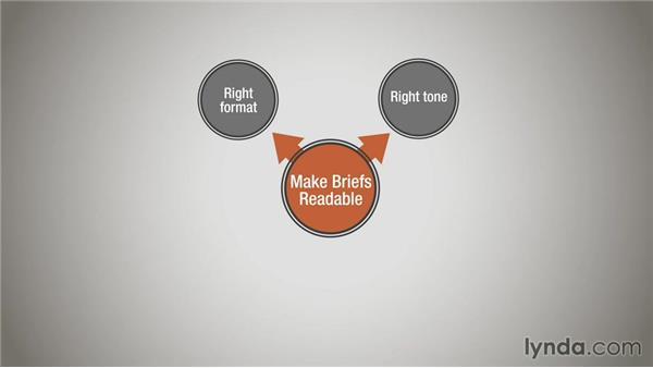 Making briefs more readable: Running a Design Business: Creative Briefs