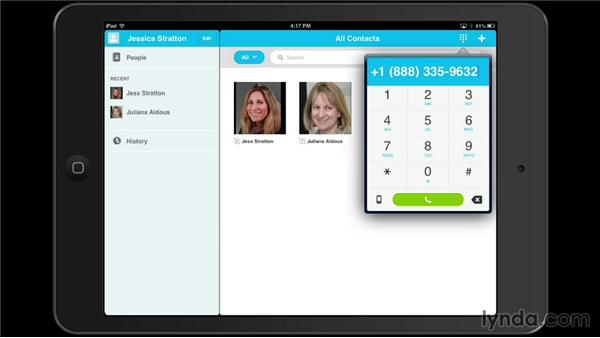 Use Skype on a mobile device to make international calls: Setting Up Your Mobile Office to Work from Anywhere