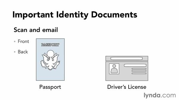 Scanning your important travel docs: Setting Up Your Mobile Office to Work from Anywhere