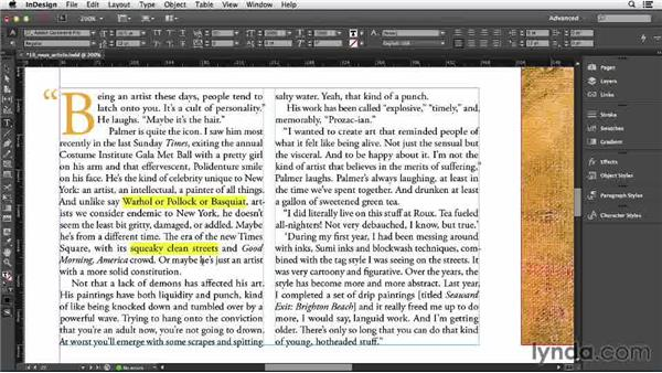 108 Making a text highlighter: InDesign Secrets