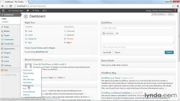 Importing SEO content from All In One SEO Pack: WordPress Plugins: SEO