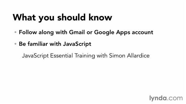 What you need to know before continuing: Up and Running with Google Apps Script (2013)