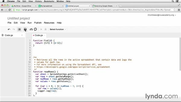 Building custom spreadsheet functions: Up and Running with Google Apps Script (2013)