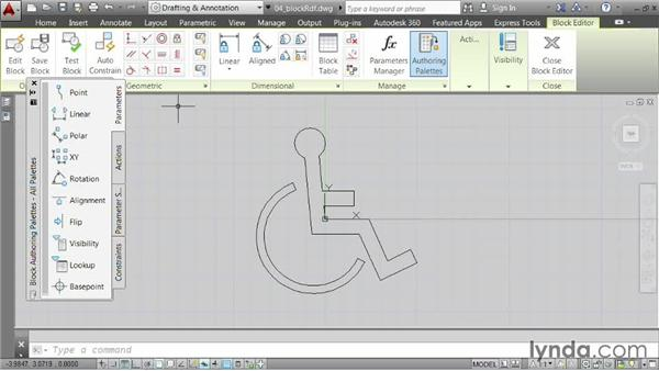 Redefining blocks: AutoCAD 2014 Essentials: 05 Working with References