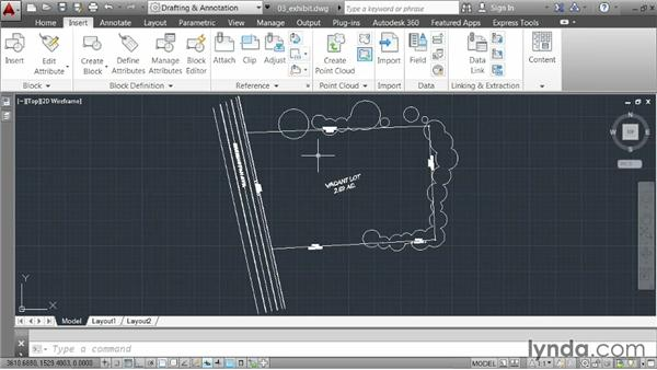 Controlling the appearance of referenced drawings: AutoCAD 2014 Essentials: 05 Working with References