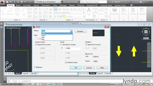 Demo: Working with references: AutoCAD 2014 Essentials: 05 Working with References