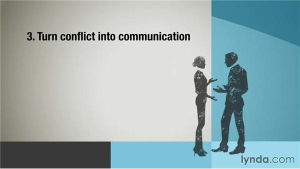 Turning team conflict into opportunities: Building Business Relationships