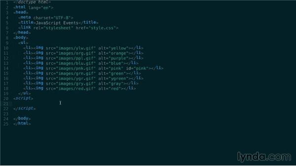 Understanding event registration: JavaScript: Events