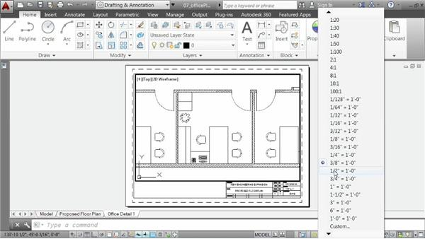 Organizing layouts: AutoCAD 2014 Essentials: 06 Sharing Drawings with Others