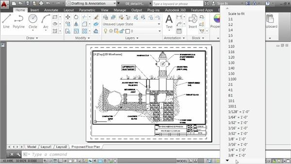 Reusing layouts: AutoCAD 2014 Essentials: 06 Sharing Drawings with Others