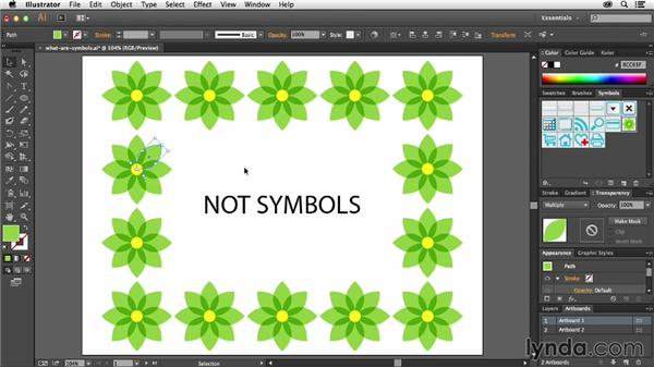 What are symbols and how do I use them?: Using Symbols in Illustrator