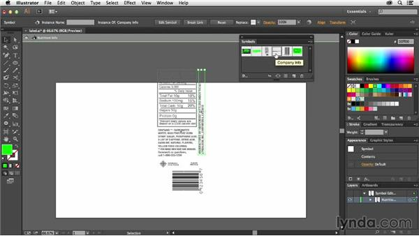 Working with nested symbols: Using Symbols in Illustrator