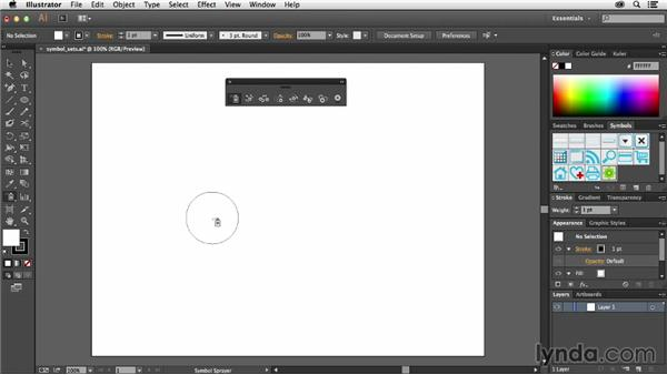 Creating symbol sets: Using Symbols in Illustrator