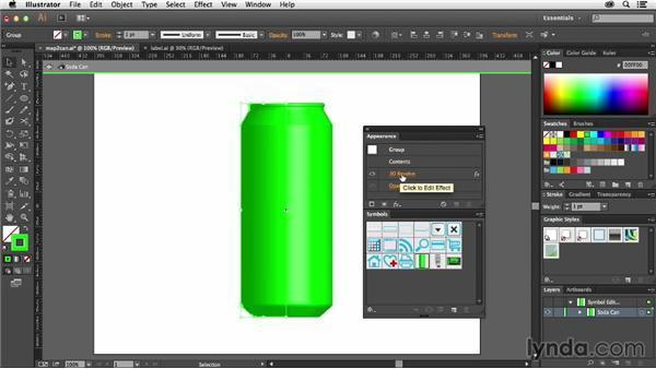 Mapping symbols to artwork: Using Symbols in Illustrator