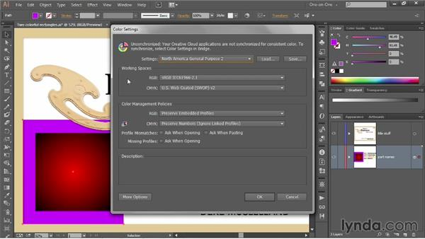 Understanding the color-managed workflow: Illustrator CC 2013 One-on-One: Advanced