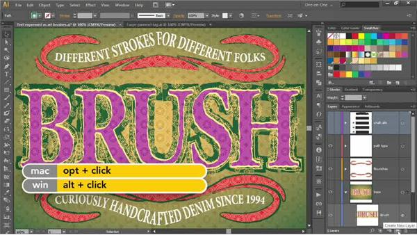Infusing your artwork with a tile pattern: Illustrator CC 2013 One-on-One: Advanced