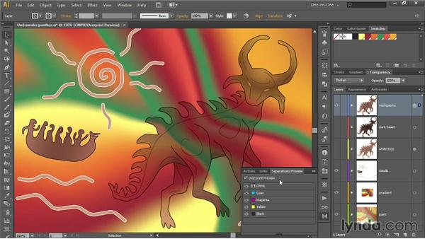 Darken, Multiply, and Color Burn: Illustrator CC 2013 One-on-One: Advanced
