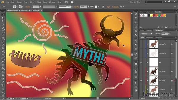 Hue, Saturation, Color, and Luminosity: Illustrator CC 2013 One-on-One: Advanced