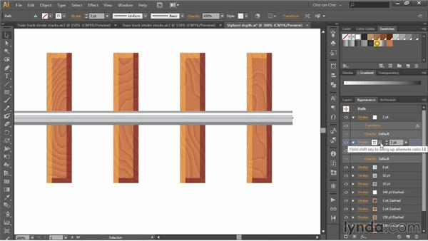 Adding, layering, and offsetting strokes: Illustrator CC 2013 One-on-One: Advanced