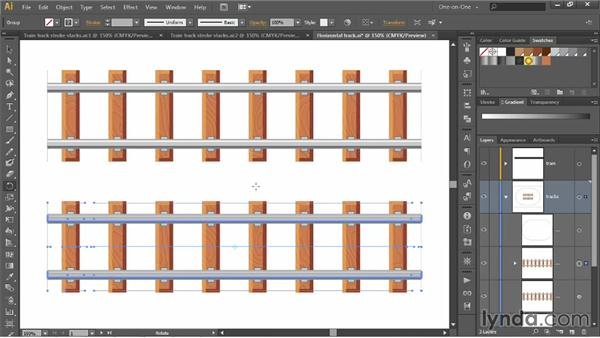 Turning stacked strokes into editable paths: Illustrator CC 2013 One-on-One: Advanced