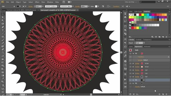 Adding scalloped edges with Pucker & Bloat: Illustrator CC 2013 One-on-One: Advanced