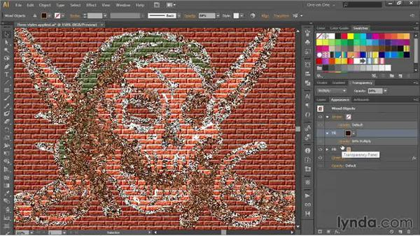 Correcting previews in the Effect Gallery: Illustrator CC 2013 One-on-One: Advanced