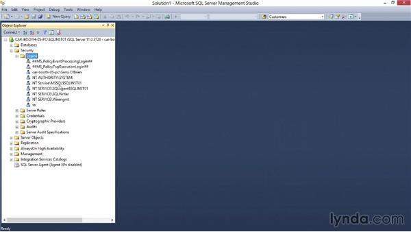 SQL Server principals: Securing SQL Server 2012