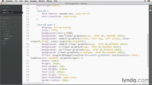 Using gradients: CSS: Advanced Typographic Techniques