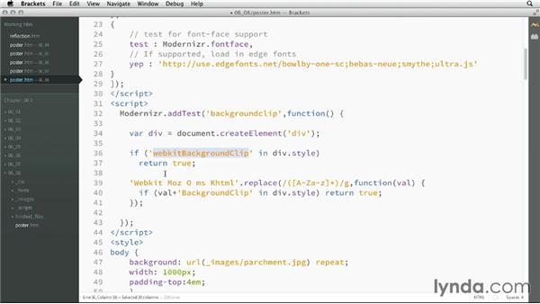 Extending Modernizr: CSS: Advanced Typographic Techniques