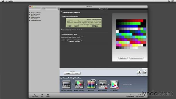 Calibrating a display using i1Pro 2: Color Management Fundamentals