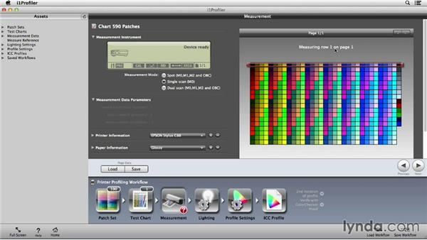 Creating a printer profile with i1Pro: Color Management Fundamentals