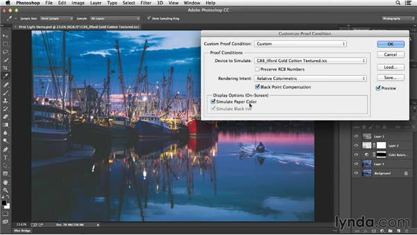 Soft proofing images in Photoshop: Color Management Fundamentals