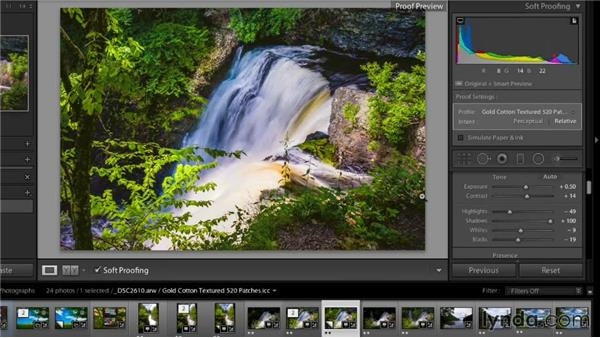 Soft proofing in Lightroom and other raw processing applications: Color Management Fundamentals