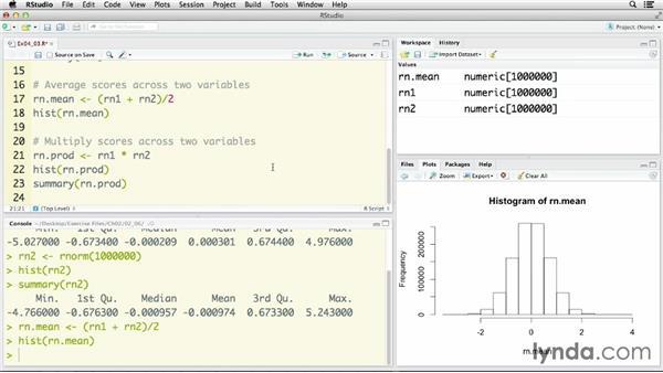 Computing composite variables: R Statistics Essential Training