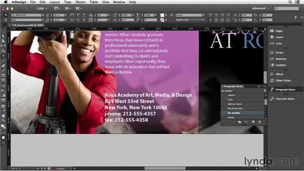 110 Adding custom text at the beginning of each line automatically: InDesign Secrets