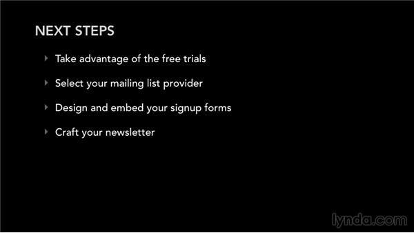 Next steps: Mailing List Management for Musicians and Bands