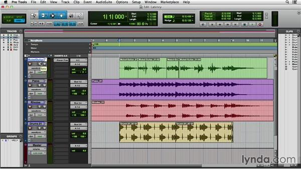 Understanding latency: Pro Tools 11 Essential Training
