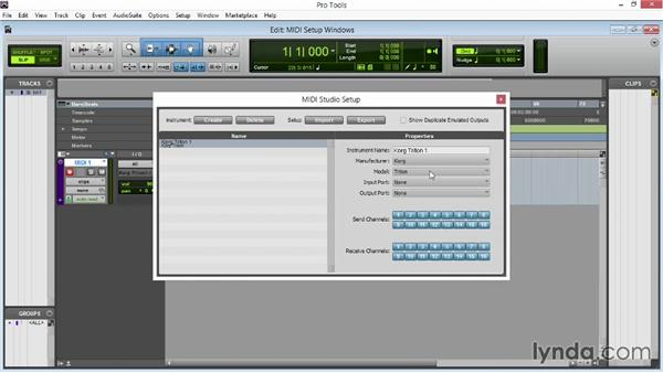Setting up MIDI on a PC: Pro Tools 11 Essential Training