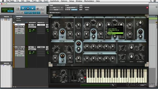 Using MIDI Learn: Pro Tools 11 Essential Training