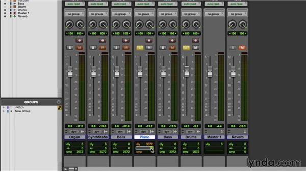 Utilizing ADC while mixing: Pro Tools 11 Essential Training