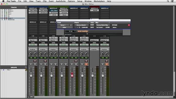 Understanding dither and noise shaping: Pro Tools 11 Essential Training