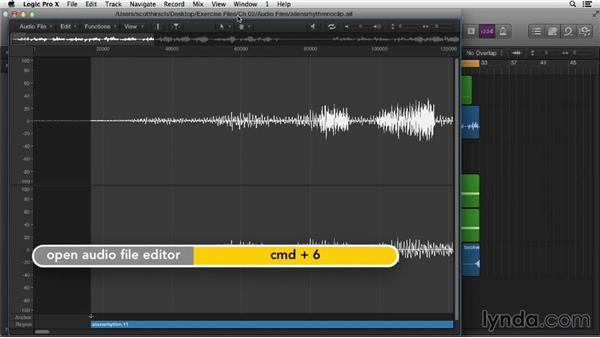 Working with windows and screensets: Logic Pro X Essential Training